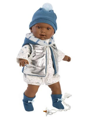 Soft Body Crying Baby Doll Derek