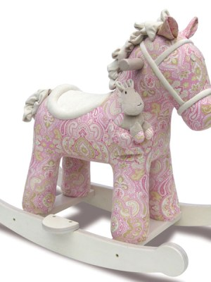 Pixie & Fluff Rocking Horse and Plush Pal