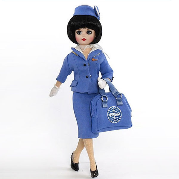 Pan Am Stewardess Collectible Doll