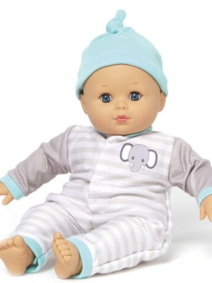 Babble Baby Blue Stripe