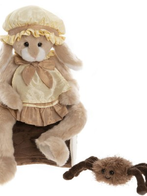 Little Miss Muffet & Incy Wincy - Charlie Bears Plush Collection