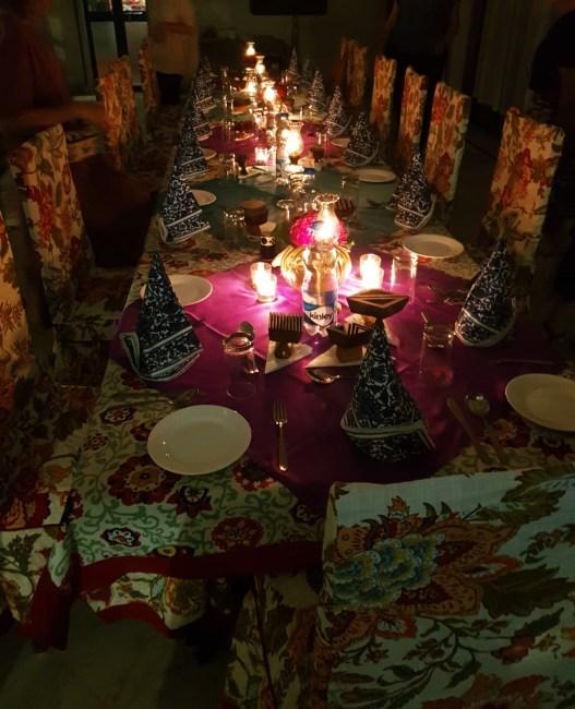 jaipur woodblocks at table
