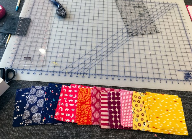 quiltid-19: jewel toned fabrics and japanese fabric prints
