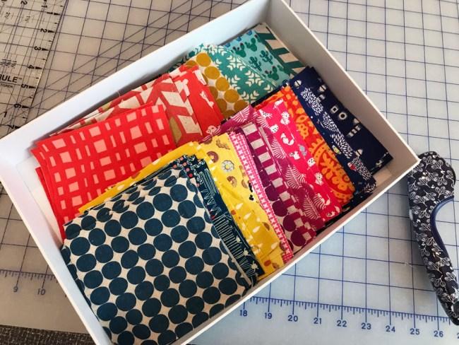 jewel toned quilt squares - quiltid-19