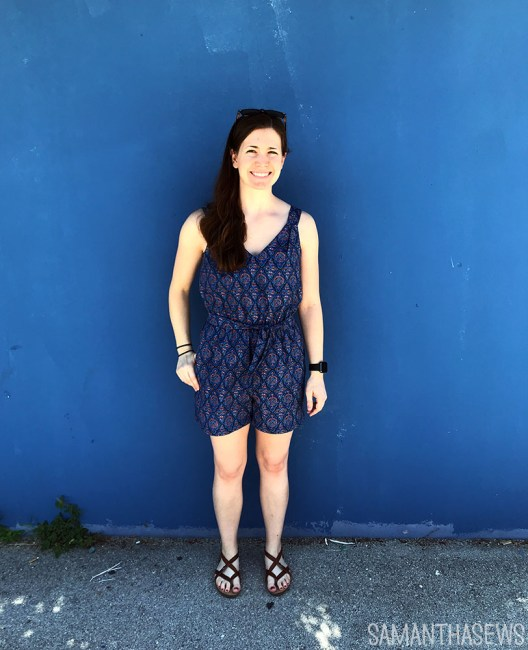 me-made may 2020: blue jaipur jumpsuit