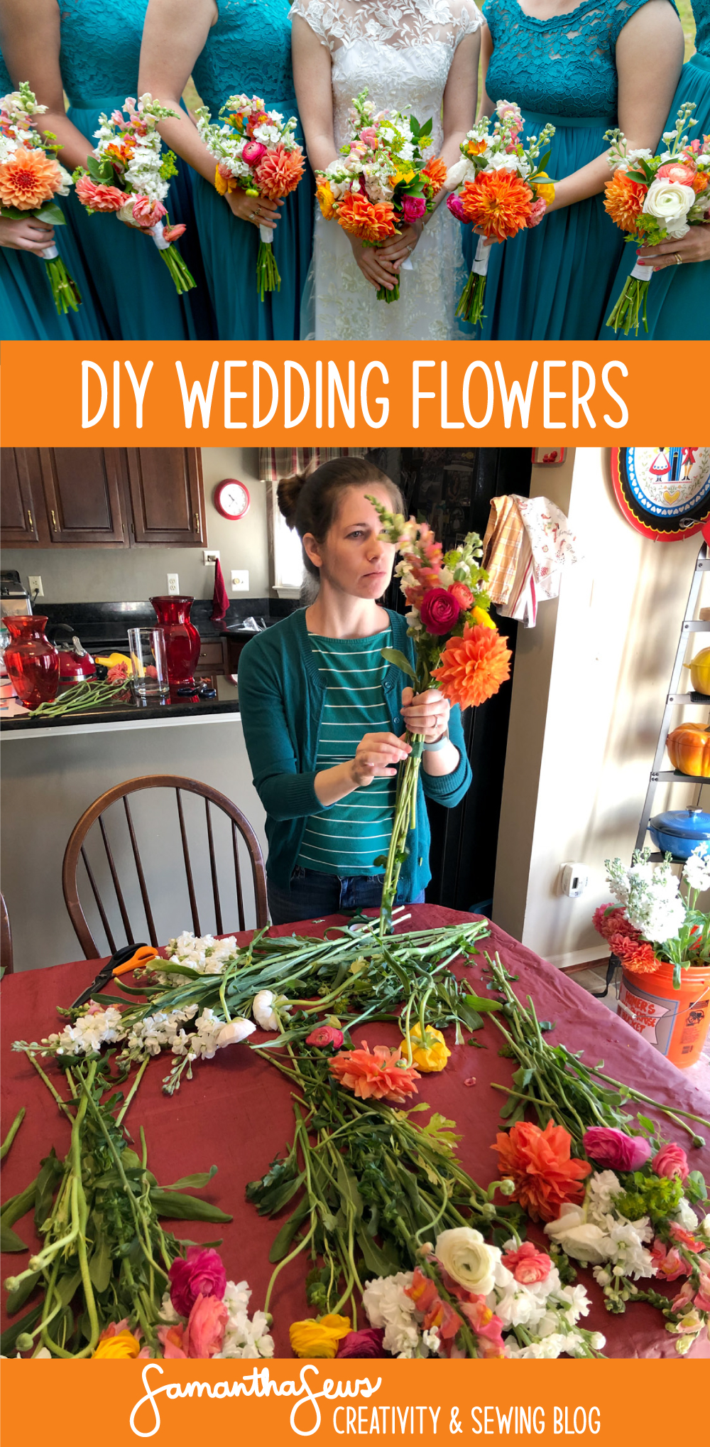 DIY Wedding Flowers: Make your own wedding bouquets