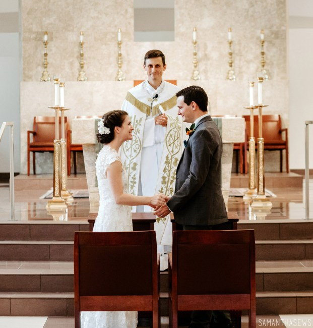 Catholic wedding ceremony - DIY wedding