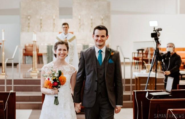 Catholic wedding live streaming over facebook