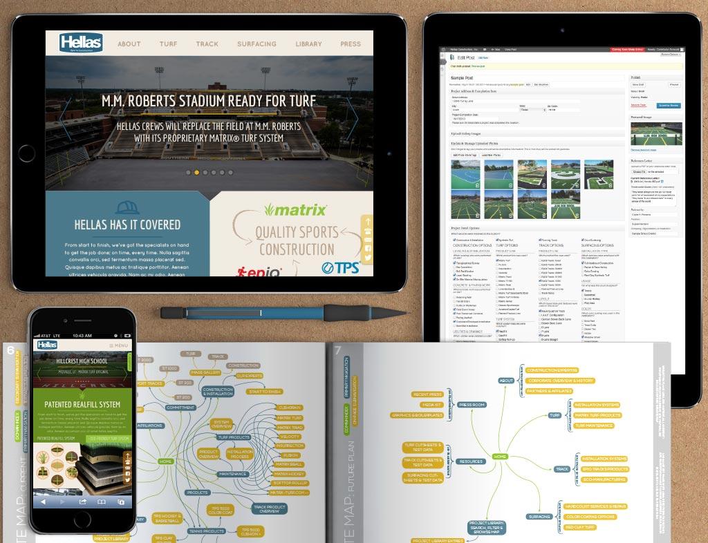 Hellas Construction Web App