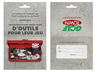 French Toolbox gift card (Golf Town)