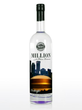 New Orleans Million Vodka