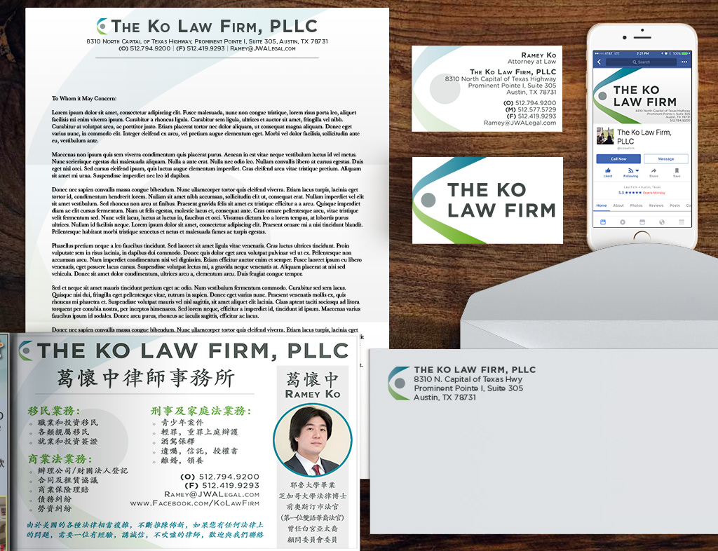 The Ko Law Firm Identity Kit