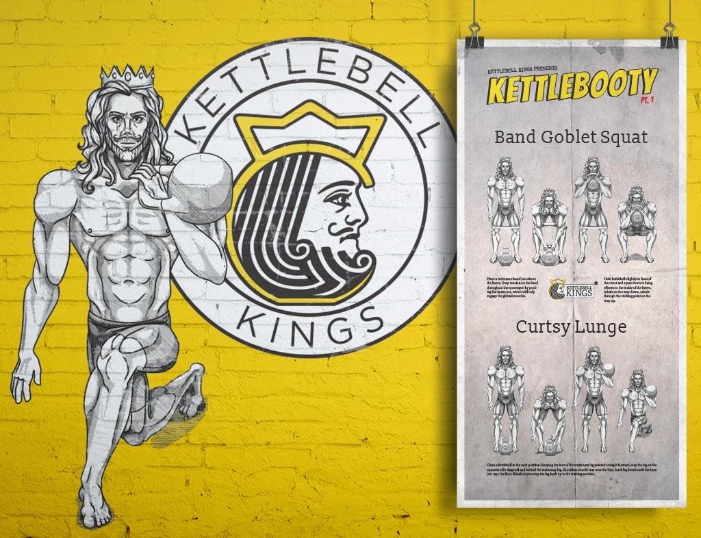 Kettlebell Kings Character Concept Art
