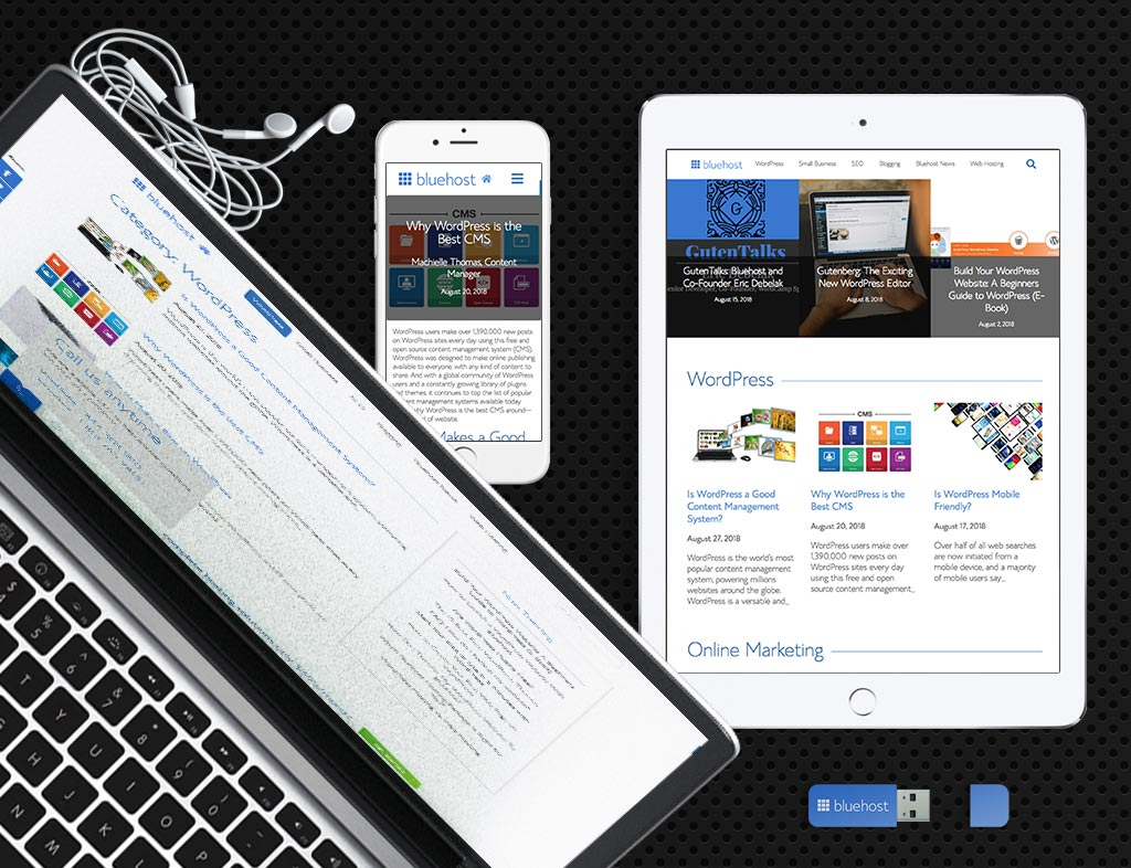 Bluehost Blog Theme on WordPress