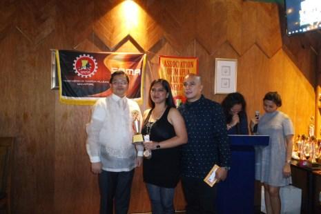 From left: Consul Mers, Jenny, Rico