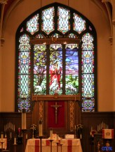 Altar at Redeemer Lutheran Church, Fort Wayne, IN