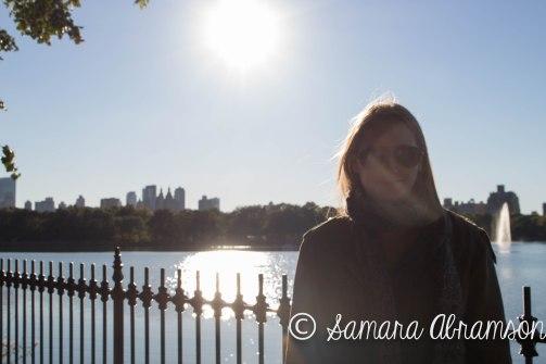 Paige in Central Park   © Samara Abramson