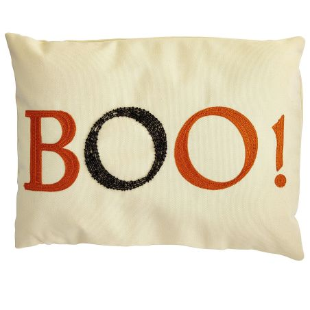 Boo! pillow, Pier One, $24.95