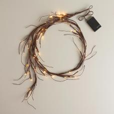 Willow garland lights, World Market, $24.99