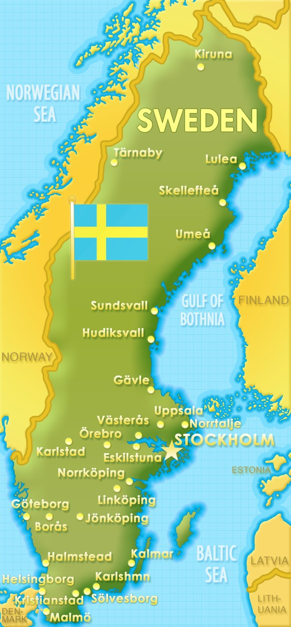 map My Research on clothing of Sweden 19502010