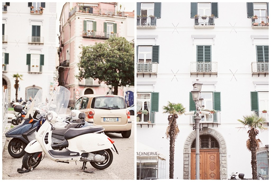 Amalfi Coast Italy Travel Film Photography, Salerno