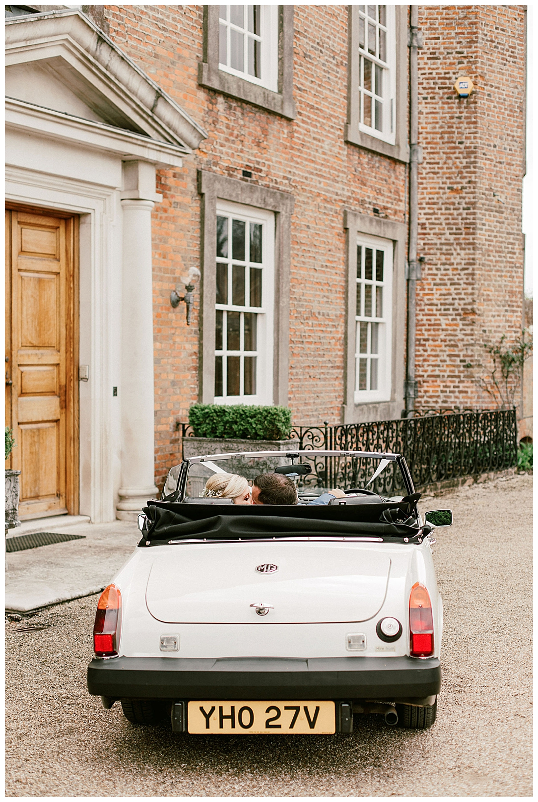 Vintage Car - St Clere Estate - Kent England UK Garden Wedding
