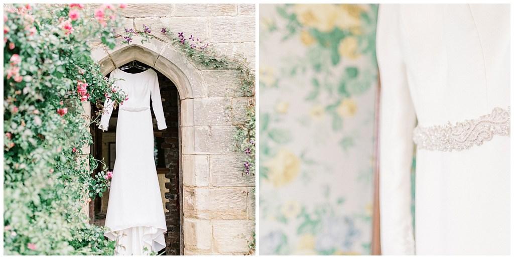 Chiddingstone Castle Summer Wedding - Mikaella Bridal Wedding Gown - The Gown Shop Bridal