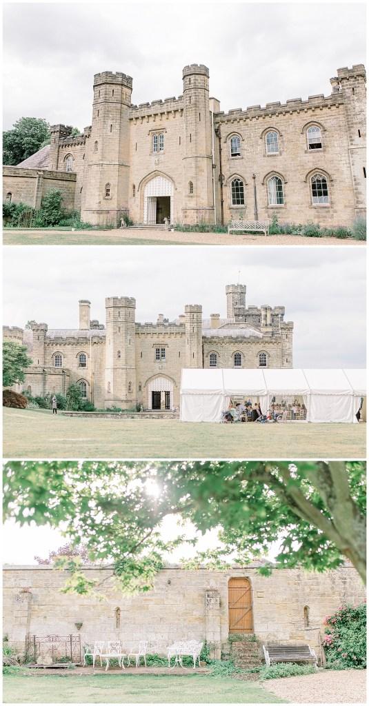 Chiddingstone Castle Summer Tent Wedding