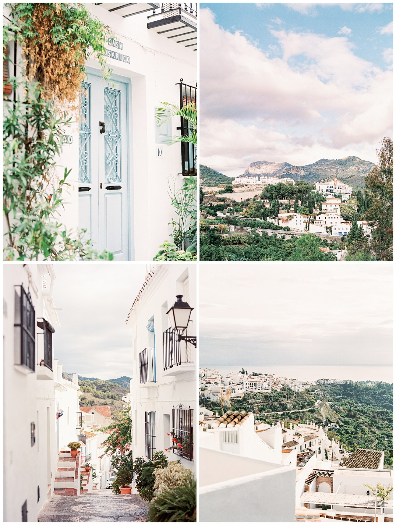 Frigiliana Spain Best Pueblos Blanco White Village