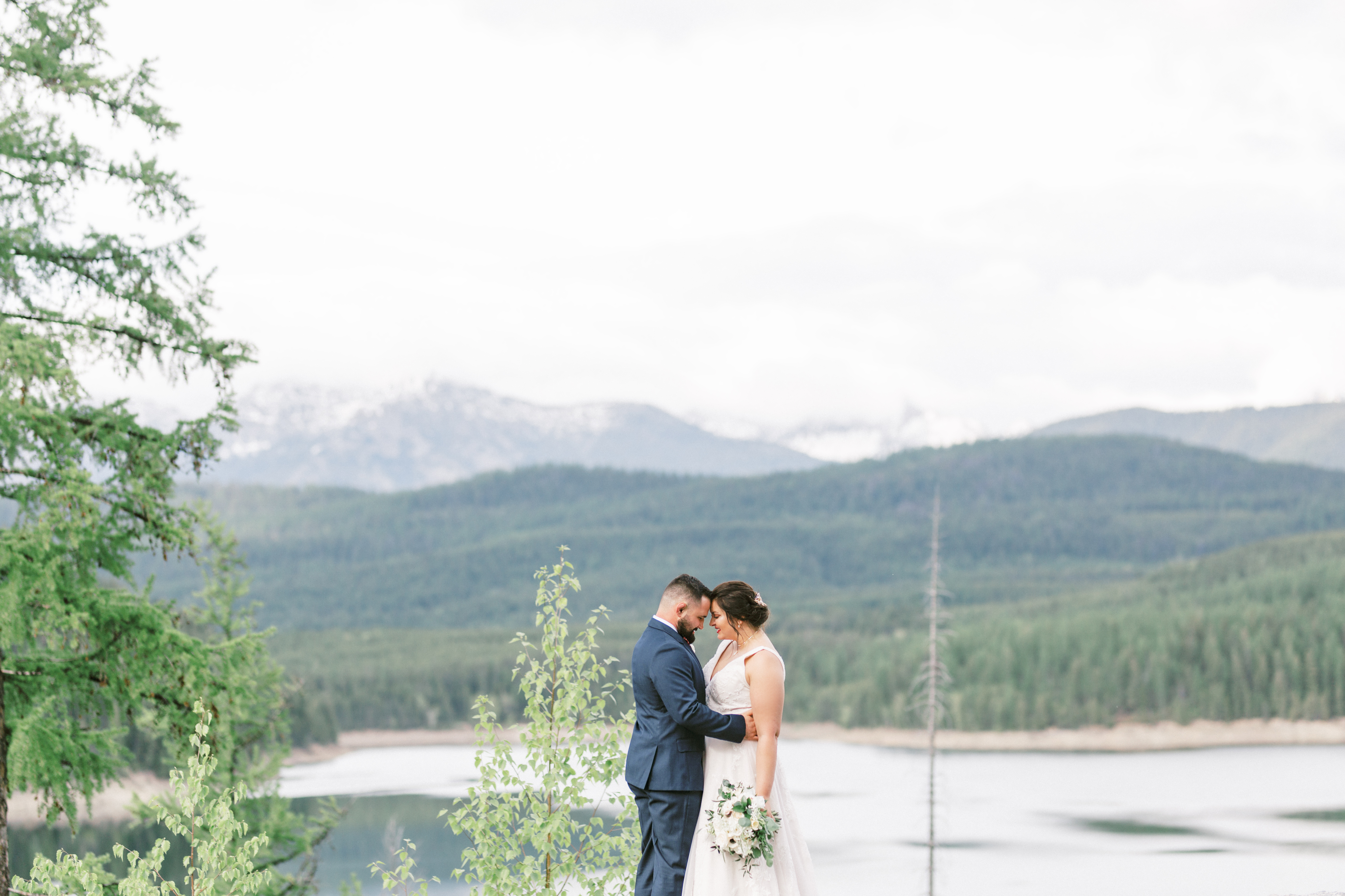 Intimate Wedding Ceremony at Glacier National Park