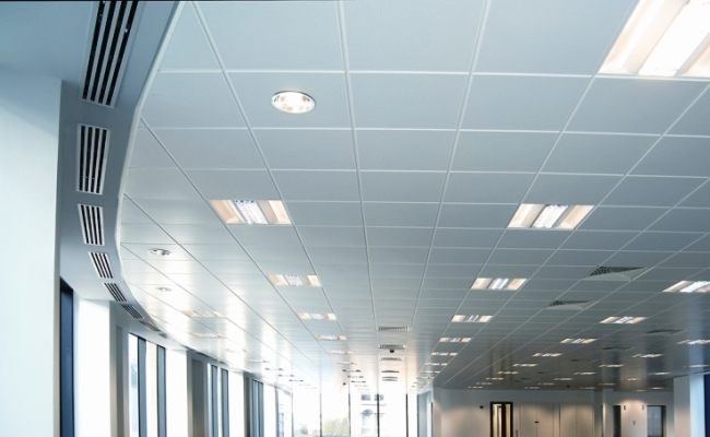 T-GRID SUSPENDED FALSE CEILING