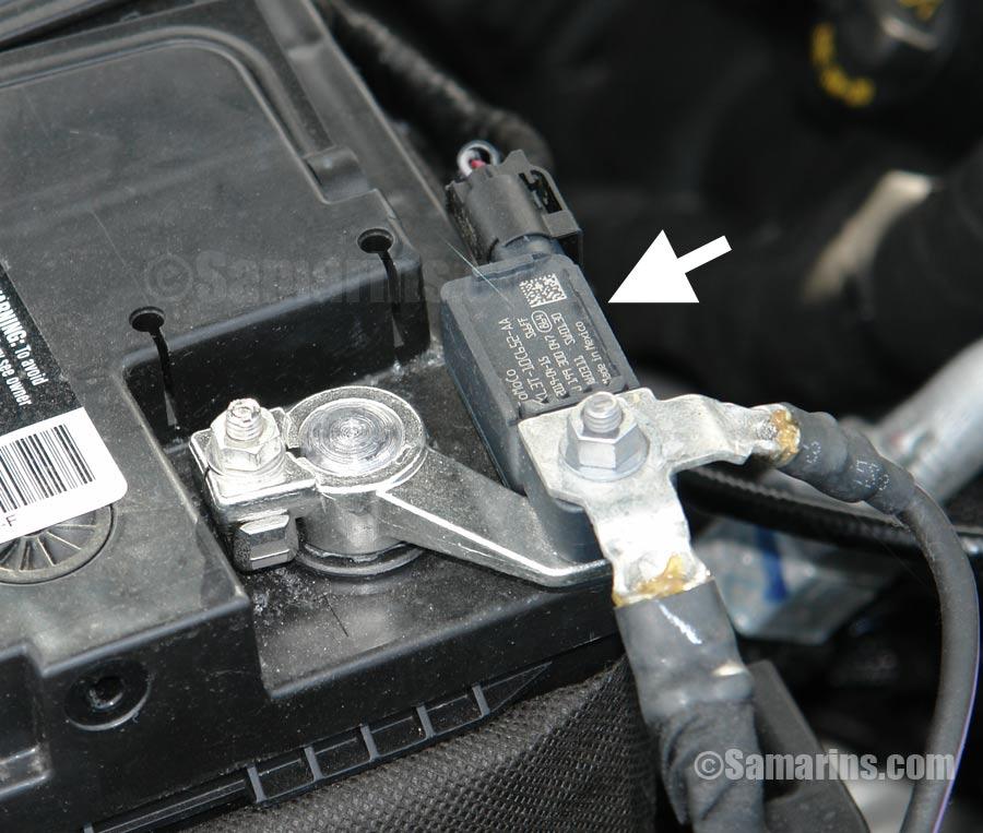 2003 Honda Pilot Fuse Diagram Battery Sensor How It Works Problems Checking Battery