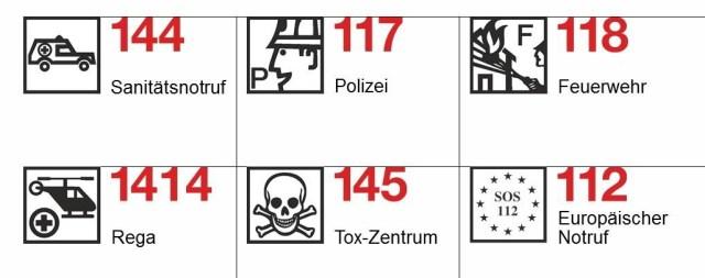 Quelle: Schweizerischer Samariterverband