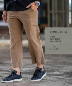 sirwal-office-reguler-i0013-light-brown-twill-stretch