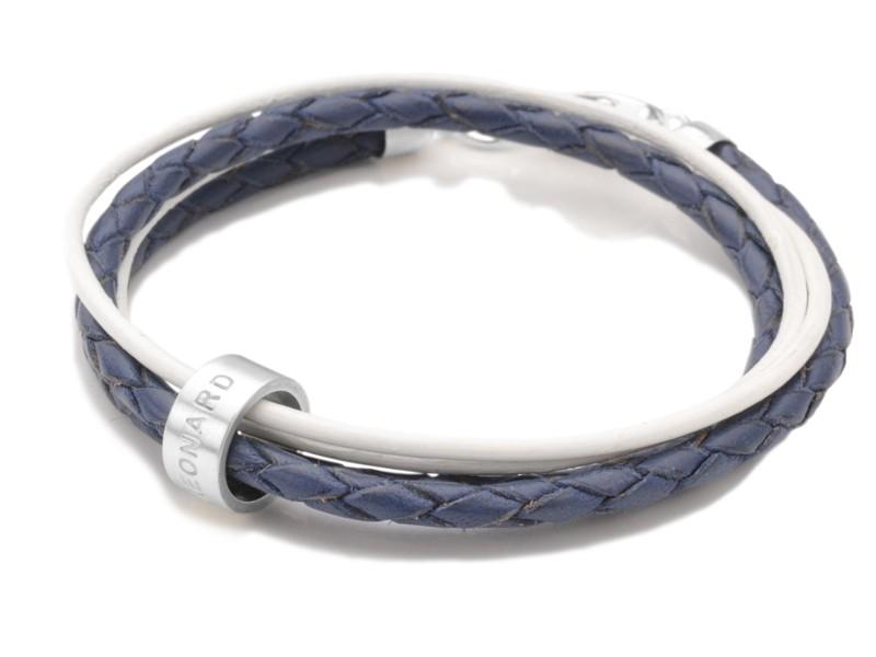 Lederarmband LADIES SECRET 925 Silber Armband mit Gravur