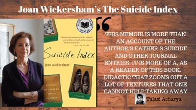 Joan Wickersham's The Suicide Index
