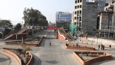 Quiet Kathmandu due to Lock-down: Photo Feature