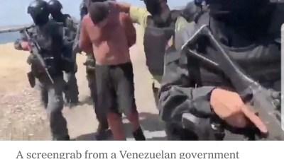 2 Americans Captured in Venezuela