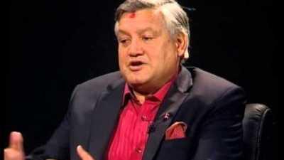 सुनीलबहादुर थापा कांग्रेसमा प्रवेश गर्दै