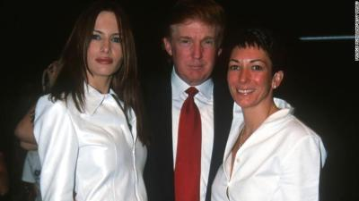 Trump claims not to be following Maxwell case despite long…