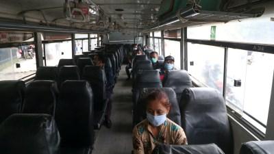 सार्वजनिक यातायातमा कडाई : सिट क्षमता जति मात्रै यात्रु राख्न…