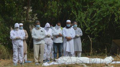 भारतमा कोरोना संक्रमणबाट मृत्यु हुनेको संख्या एक लाख नजिक