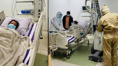प्रचण्ड पत्नी सीता दाहाल अस्पताल भर्ना