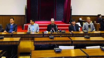 सात मन्त्रीद्वारा सामूहिक राजीनामाको घोषणा (नामावलीसहित)