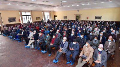ओली समूहको सातै प्रदेशको प्रशिक्षण भेला काठमाडौमा