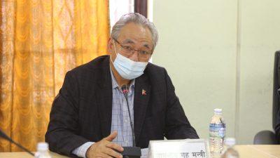 निर्वाचनको तयारीमा जुट्न तीन वटै सुरक्षा निकायका प्रमुखहरुलाई गृहमन्त्रीको निर्देशन