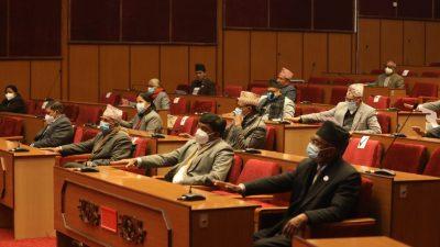राष्ट्रियसभाको बैठक आज दिउँसो १ बजे बस्दै