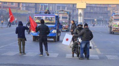 प्रचण्ड-नेपाल पक्षको बन्दले देशभरको जनजीवन प्रभावित, सुरक्षा व्यवस्था कडा