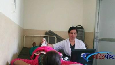 गाउँगाउँमा भिडियो एक्स–रे सेवाः गर्भवतीमा खुशीयाली