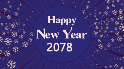 उत्साहसाथ मनाइयो नयाँ वर्ष २०७८